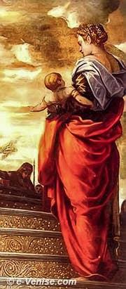 Tintoret La Présentation de la Vierge au Temple