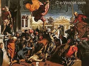 Tintoret le Miracle de Saint-Marc délivrant l'esclave