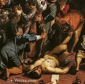 Tintoret Le Miracle de St Marc délivrant l'Esclave