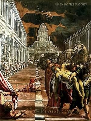 Tintoret La Translation du corps de Saint-Marc