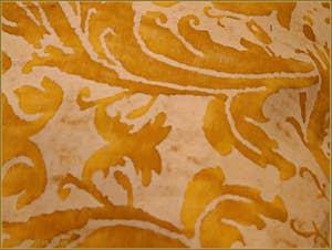 Détail d'un Tissu Mariano Fortuny de Venise