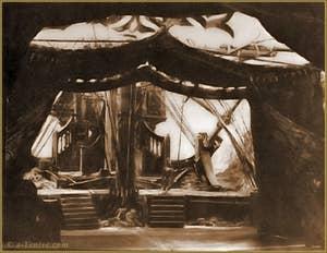 Décor de théâtre de Mariano Fortuny pour Tristan et Isolde de Richard Wagner