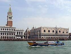 Le Bacino di San Marco à Venise