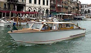 Bateau Taxi à Venise