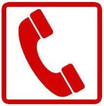 Point téléphone à Venise
