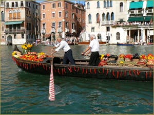 Régate historique de Venise : Légumes et piments !