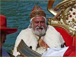 Régate Historique de Venise : La gondole du Doge