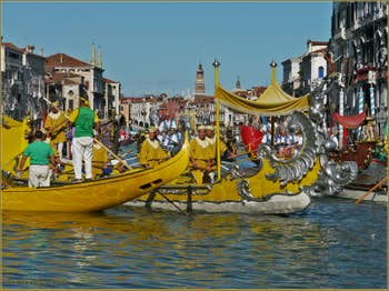 Regata Storica, le Cortège Historique à Venise
