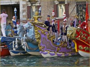 Cortège historique à la Regata Storica de Venise