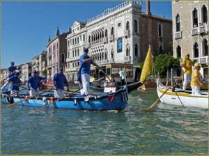 Regata Storica de Venise, le Cortège sportif