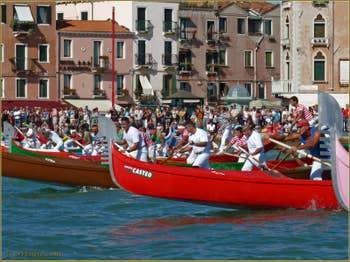 Regata Storica de Venise, Régate de Gondoles