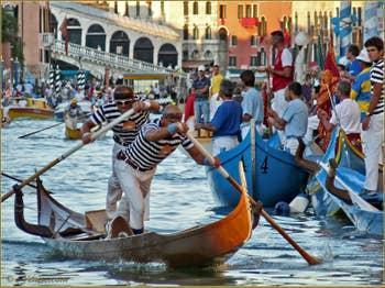Regata Storica de Venise, Régate de Gondolini