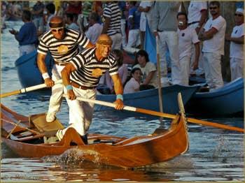 Regata Storica, la régate historique de Vensie : La Course des Gondolini avec Igor et Rudi Vignotto