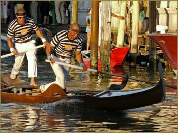 Régate historique de Venise : Les Gondolini
