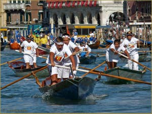Regate Historique de Venise : Tous les ages sont représentés