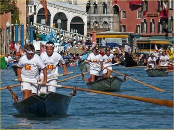 Regata Storica de Venise, Régate des Maciarele sur Mascarete