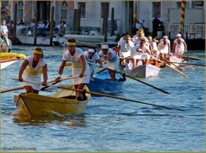 Regata Storica de Venise, Régate féminine sur Mascarete