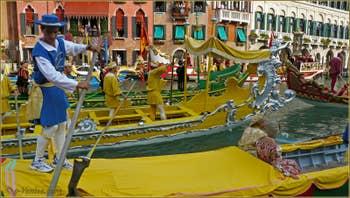 Regata Storica Venise, Cortège historique