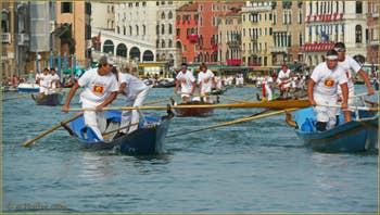 Regata Storica de Venise, la participation des plus jeunes