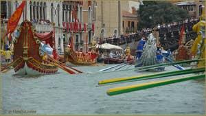 Regata Storica de Venise, le Cortège historique