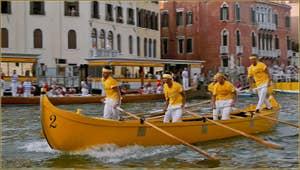 Regata Storica de Venise, la course des Caorline