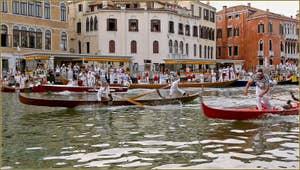 Régate Historique de Venise, la régate des Gondolini