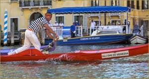 La Regata Storica, la Régate Historique de Venise, régate des Gondolini, Gianpaolo d'Este