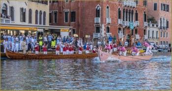 La Regata Storica, la Régate Historique de Venise, régate des Caorline,