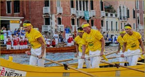 La Regata Storica, la Régate Historique de Venise, régate des Caorline