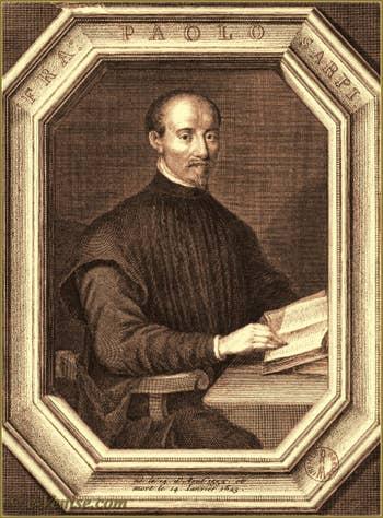 Portrait de Pietro Sarpi dit Frère Paolo