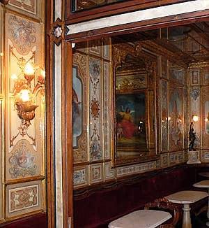 Le Café Florian à Venise : Un salon