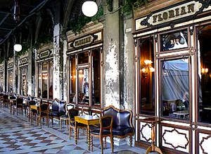 Café Florian Procuraties Nuove à Venise