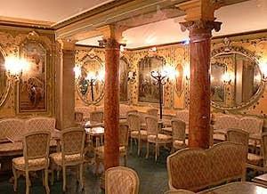 Salon du Café Quadri à Venise