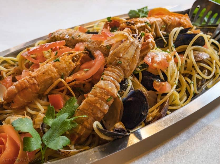 Restaurant Santa Giustina à Venise