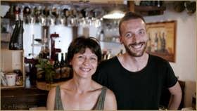 Fiorenza et Julio, de l'Osteria Al Cantinon