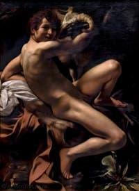 saint Jean-Baptiste, Caravage, 1602, aux musées du Capitole Capitolins à Rome en Italie