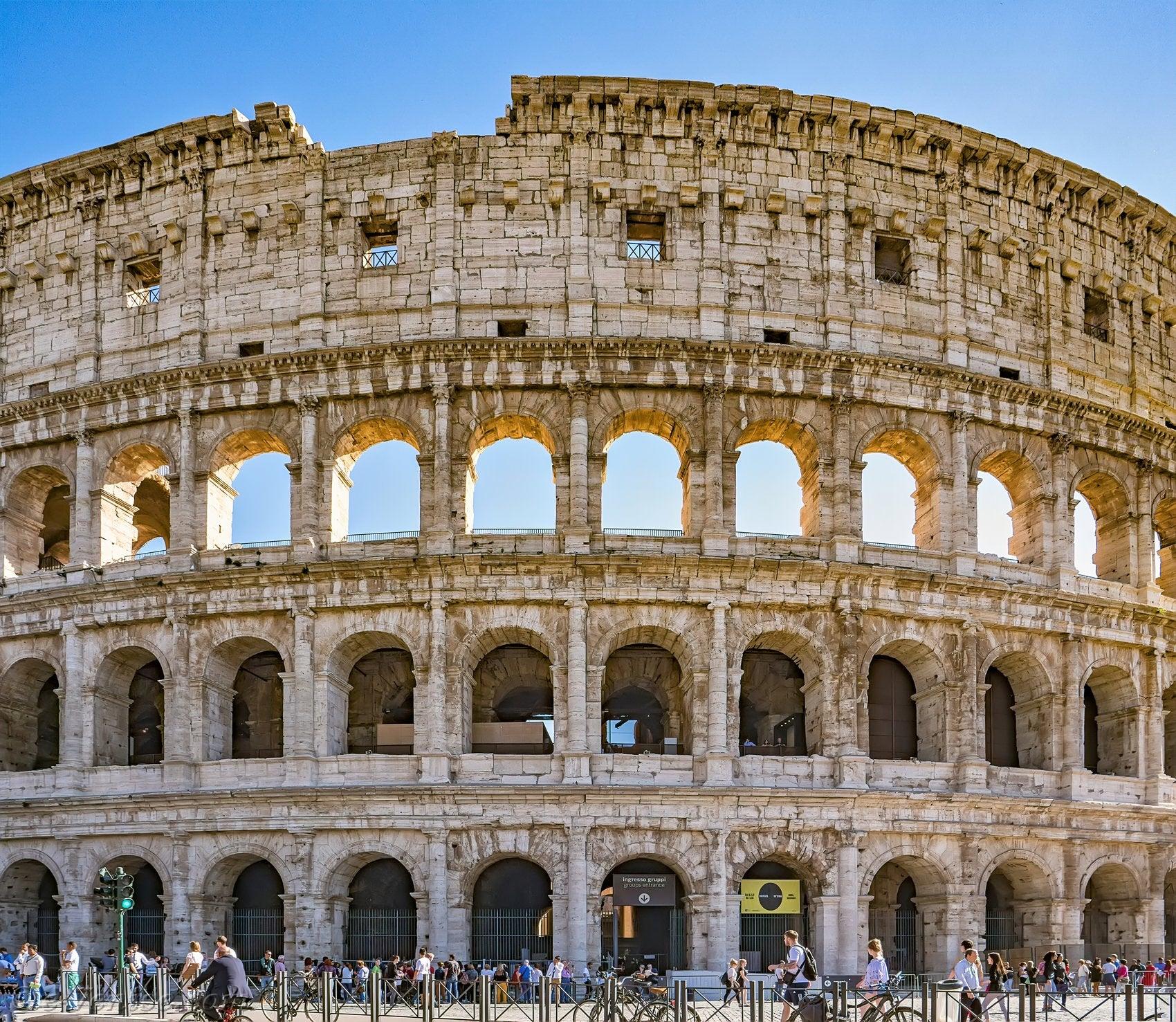 colisée de rome architecture
