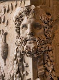 Autel funéraire de Lucius Aufidius Aprilis, Musée Crypte Balbi à Rome en Italie