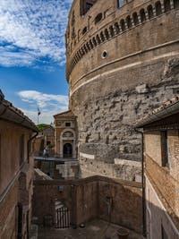 Le Château Saint-Ange, le Castel Sant'Angelo à Rome