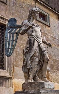 Archange saint Michel, Raffaello da Montelupo, Château Saint-Ange, le Castel Sant'Angelo à Rome