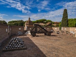Le Bastion de Saint-Marc du Château Saint-Ange, le Castel Sant'Angelo à Rome
