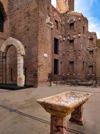 Les Thermes de Dioclétien à Rome en Italie