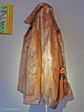 Livio de Marchi à Venise : Blouson en bois sculpté