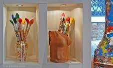 Gallerie Livio de Marchi à Venise Sculpteur sur bois