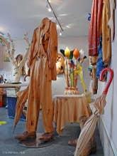 Galerie Livio de Marchi à Venise Sculpteur sur bois
