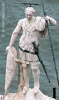 Colonne de Saint Théodore à Saint-Marc