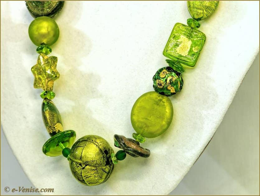 Marco Franzato Vitraux, perles, colliers bijoux en verre de Murano à Venise