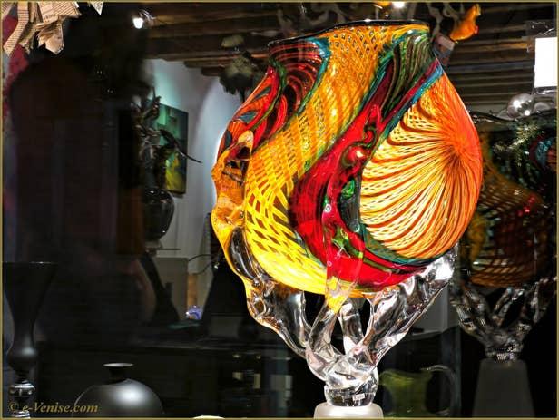 Massimiliano Schiavon Œuvres d'Art en Verre de Murano à Venise