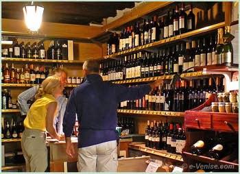 Marchand de vins Bottiglieria Colonna à Venise