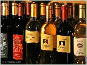 Bottiglieria Colonna vins rouges et blancs italiens à Venise